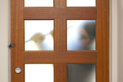 Inbreker voordeur